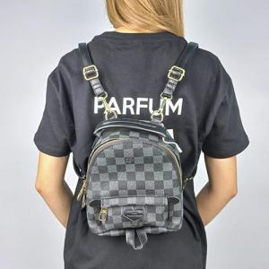 Рюкзак Louis Vuitton Palm Springs Mini XS Клітинка, чорний