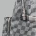 Рюкзак Louis Vuitton Черный, клетка - фото_3
