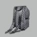 Рюкзак Louis Vuitton Черный, клетка - фото_2