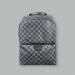 Рюкзак Louis Vuitton Черный, клетка - фото