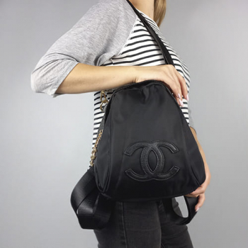 Рюкзак Chanel VIP Backpack Черный 3576 - фото