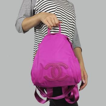 Рюкзак Chanel VIP Backpack Розовый 3576 - фото