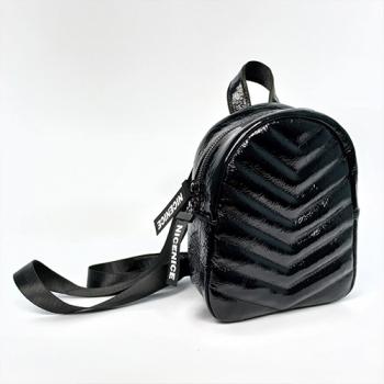 Рюкзак Tokyo Черный, глянцевый - фото_2