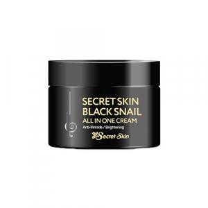 Secret Skin Black Snail All In One Cream Крем для лица с муцином черной улитки