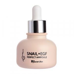 Secret Skin Snail+EGF Perfect Ampoule Сыворотка для лица с муцином улитки