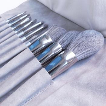Набор кистей для макияжа Gray 10 in 1 - фото_3