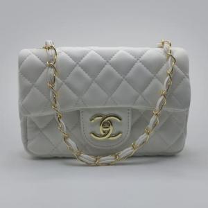 Сумка Chanel Mini Classic Handbag Біла 6601
