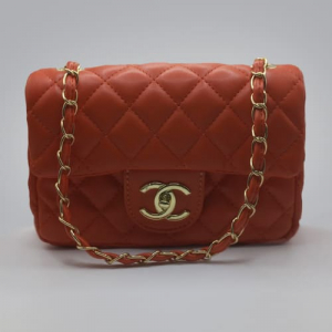 Сумка Chanel Mini Classic Handbag Коралова 6601