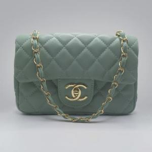 Сумка Chanel Mini Classic Handbag М'ятна 6601