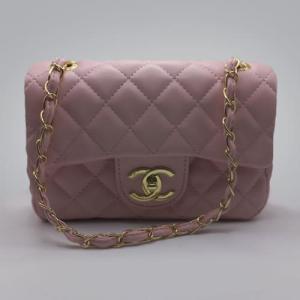 Сумка Chanel Mini Classic Handbag Рожева 6601
