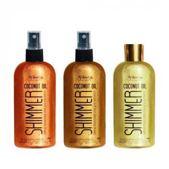 Top Beauty Shimmer Coconat Oil Кокосовое масло для тела 200 ml - фото