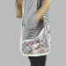 Сумка Louis Vuitton Diaphanous Light Белая 6969 - фото