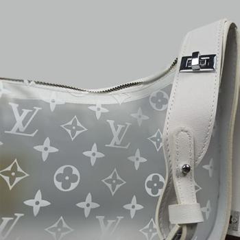 Сумка Louis Vuitton Diaphanous Light Белая 6969 - фото_3