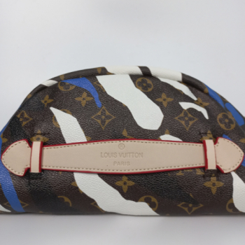 Поясная сумка Louis Vuitton Bumbag Акварель голубая 7041 - фото_3