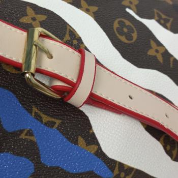 Поясная сумка Louis Vuitton Bumbag Акварель голубая 7041 - фото_5