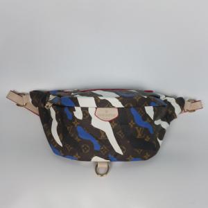 Поясна сумка Louis Vuitton Bumbag Акварель блакитна 7041