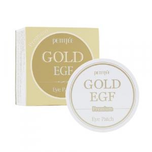 Petitfee&Koelf Premium Gold&EGF Патчі для очей  Premium із золотом