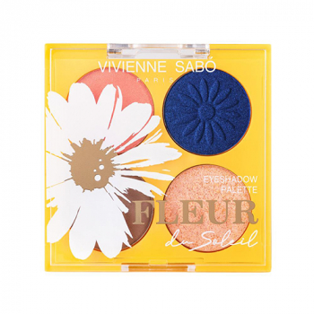 Vivienne Sabo Fleur Du Soleil Палетка теней №01 - фото