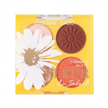 Vivienne Sabo Fleur Du Soleil Палетка теней №02