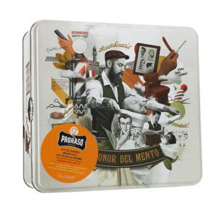 Proraso Beard Kit Wood & Spice Подарочный набор для ухода за бородой из 3-х предметов