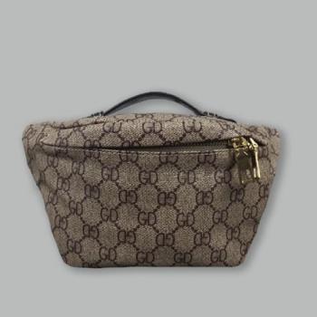 Поясная сумка Gucci Bubag World Tour Brown 9041 - фото_2