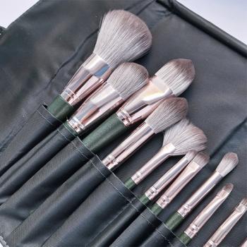 Набор кистей для макияжа Green 14 in 1 - фото_3