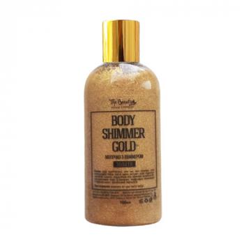 Top Beauty Body Shimmer Silver  Молочко с шиммером - фото_2
