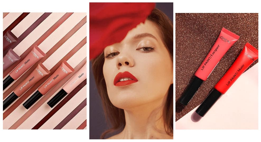 L'Oreal Paris Lip Paint Matte Фото