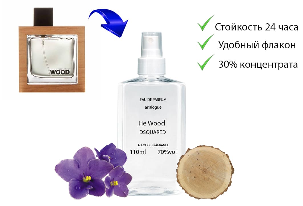 Dsquared He Wood Фото
